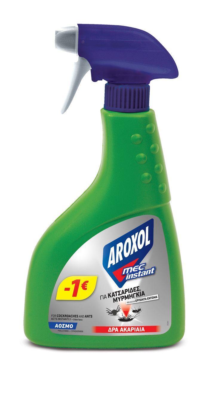 Υγρό εντομοκτόνο Aroxol Mec instant (400ml) -1€