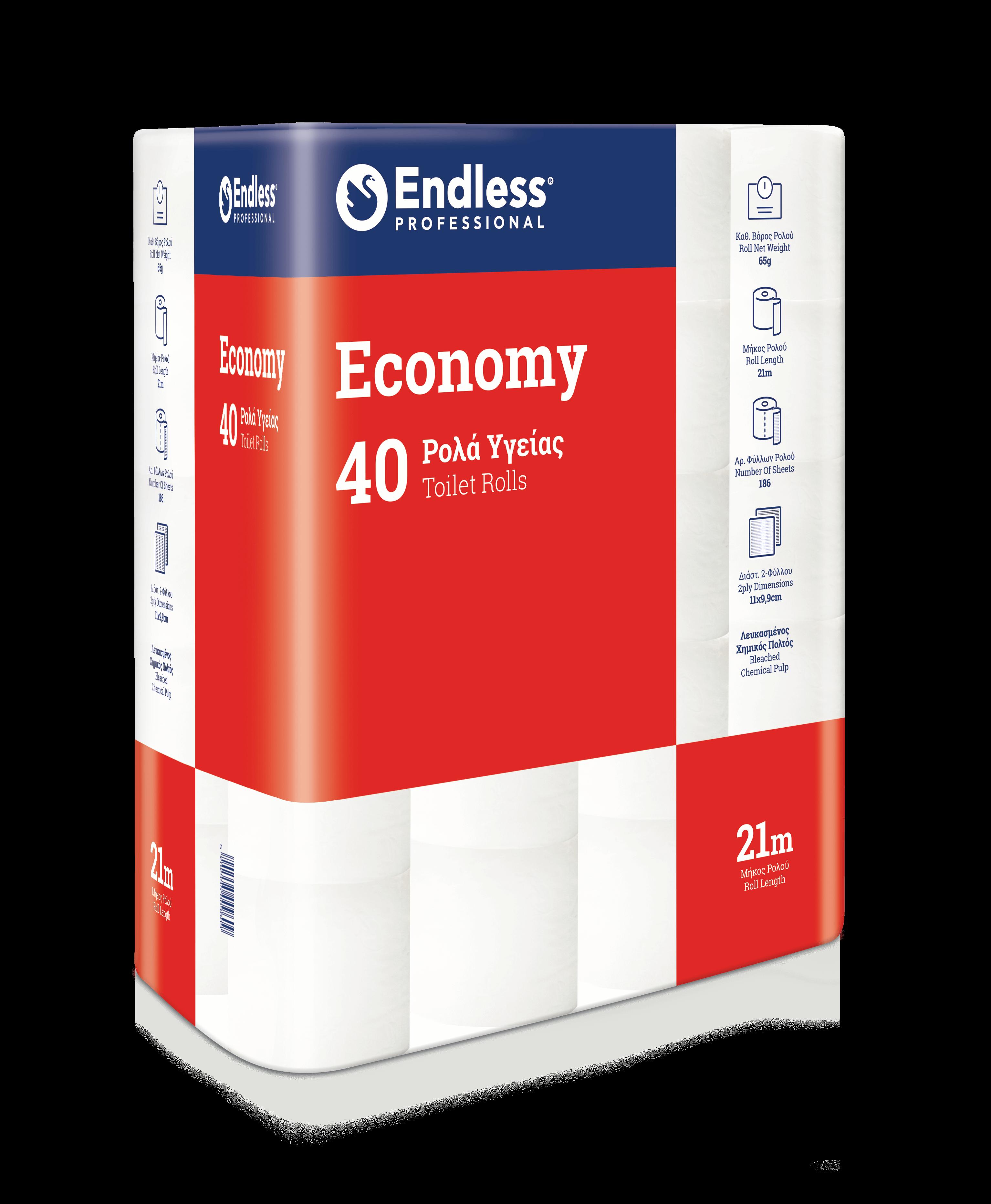 Χαρτί Υγείας Economy Endless (40 ρολά)