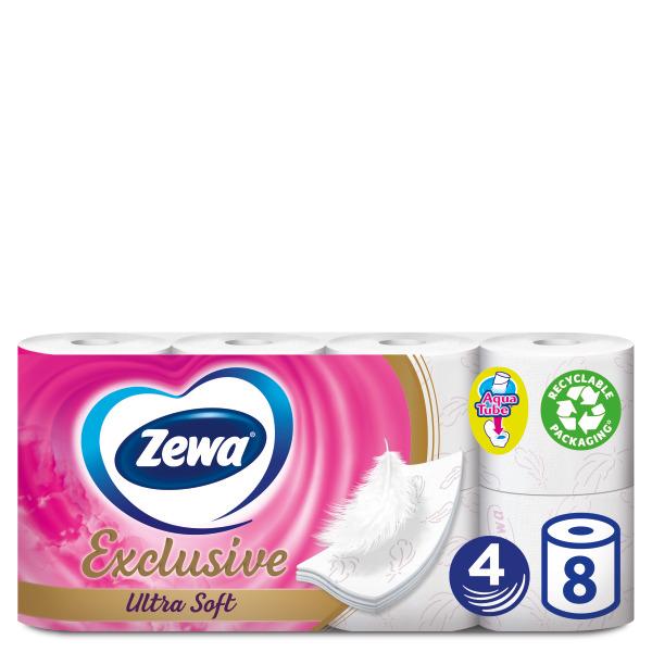 Ρολό Υγείας Ultra Soft 4φύλλο Exclusive Zewa (8 τεμ)