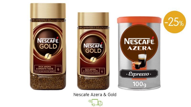 Nescafe Azera & Gold