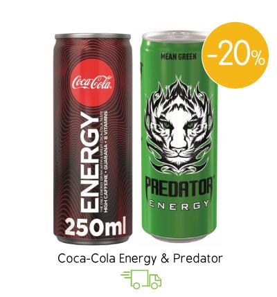 Coca-Cola Energy & Predator