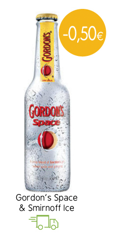 Gordon's Space & Smirnoff Ice