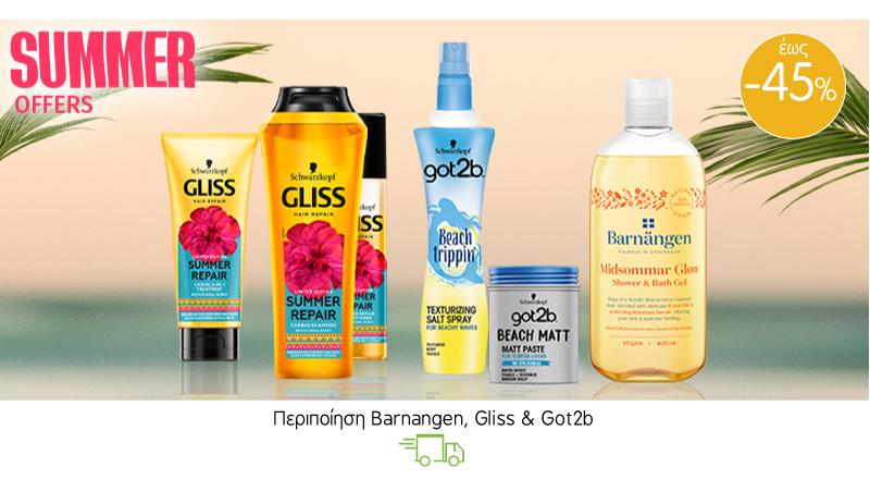 Περιποίηση Barnangen, Gliss & Got2b