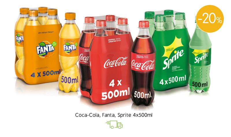 Coca-Cola, Fanta & Sprite